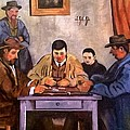 The Card Players by Cezanne-R Adair
