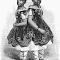 The Carolina Twins, 1866 by Granger