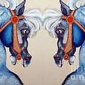The Carousel Twins by Carolyn Weltman