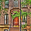 The Carrie Bradshaw Stoop From Sex And The City by Randy Aveille