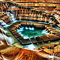 The Cascading Falls - Fort Worth Water Garden  by Brian Orlovich
