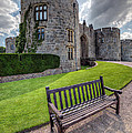 The Castle Bench by Adrian Evans