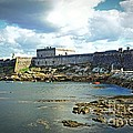 The Castle Fort On The Harbor by Mary Machare