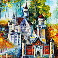 The Castle Of 4 Seasons by Leonid Afremov