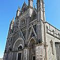 The Cathedral At Orvieto by Eric Swan