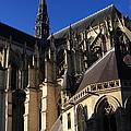 The Cathedral Basilica -  Amiens - France by Aidan Moran