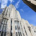 The Cathedral Of Learning 5 by Jimmy Taaffe