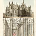 The Cathedral Of Milan by Splendid Art Prints