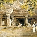 The Cave Of Elephanta, From India by William 'Crimea' Simpson