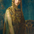 The Celtic Princess by Gaston Bussiere
