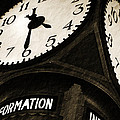 The Central Terminal Clock by Michael Allen