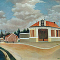 The Chair Factory At Alfortville by Henri Rousseau
