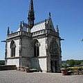 The Chapel Of Saint-hubert Amboise by Christiane Schulze Art And Photography