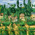 The Chateau De Medan, C.1880 by Paul Cezanne