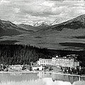 The Chateau Lake Louise by Michael Moore