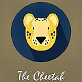 The Cheetah Cute Portrait by Florian Rodarte