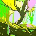 The Cherry Tree by Casoni Ibolya