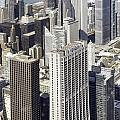 The Chicago Skyline From Sears Tower-010 by David Allen Pierson