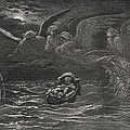 The Child Moses On The Nile by Gustave Dore