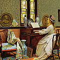 The Chorale by John Atkinson Grimshaw