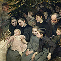 The Christmas Tree At The Dispensary by Henri Jules Jean Geoffroy