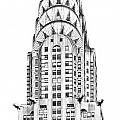 The Chrysler Building by Luciano Mortula