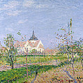 The Church At Vaudreuil by Gustave Loiseau