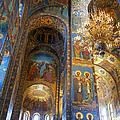 The Church Of Our Savior On Spilled Blood - St. Petersburg - Russia by Madeline Ellis