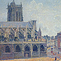 The Church Of St Jacques In Dieppe by Camille Pissarro