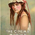 The Cinema Murder  by Movie Poster Prints