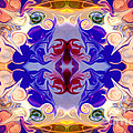 The Circle Of Life Abstract Mandala Artwork By Omaste Witkowski  by Omaste Witkowski