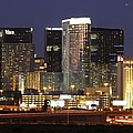 The City Center At Las Vegas Strip by Ilan Meiri