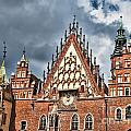 The City Hall Wroclaw Poland by Frank Bach
