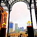 The City Of London Seen From The South Bank by Gordon James