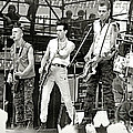 The Clash 1982 by Chuck Spang