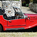 The Classic Red Convertible  by Steve Taylor