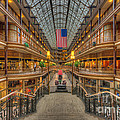 The Cleveland Arcade V by Clarence Holmes