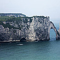 The Cliffs At Etretat by Katie Dillon