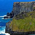 The Cliffs Of Moher In Ireland by Marilyn Burton