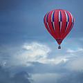 The Clouds Below - Hot Air Balloon by Nikolyn McDonald