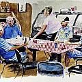 The Coffee Shop by Don Schroeder