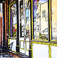 The Coffee Shop by Jim  Calarese