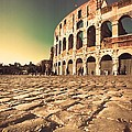 The Coliseum In Rome by Stefano Senise