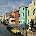 The Colors Of Burano by Susan Rovira