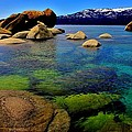 The Colors Of Lake Tahoe by Benjamin Yeager