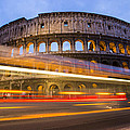 The Colosseum-blue Hour by Mircea Costina Photography