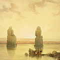 The Colossi Of Memnon by David Roberts