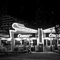 The Comet Roller Coaster - St Louis 1950 by Mountain Dreams