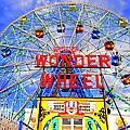 The Coney Island Wonder Wheel by Ed Weidman