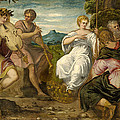The Contest Between Apollo And Marsyas by Tintoretto